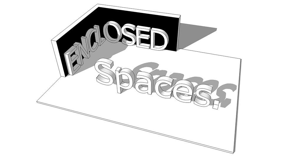 Enclosed Spaces Logo